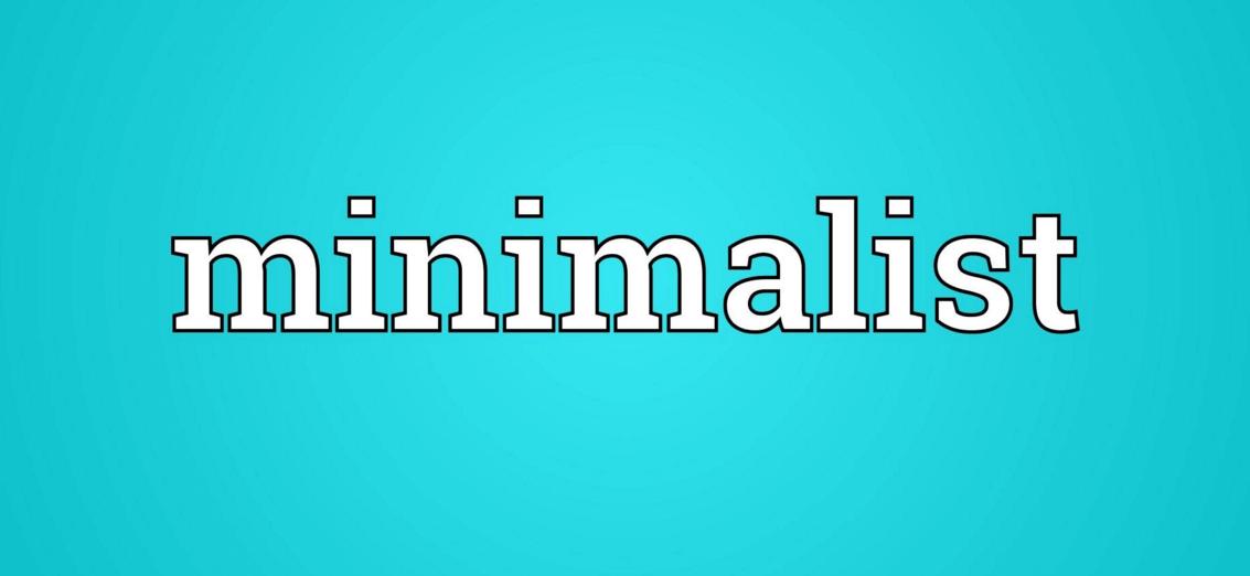 Stay Minimalistic