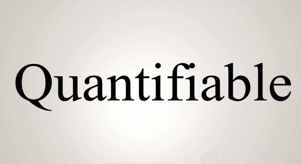 Quantifiable