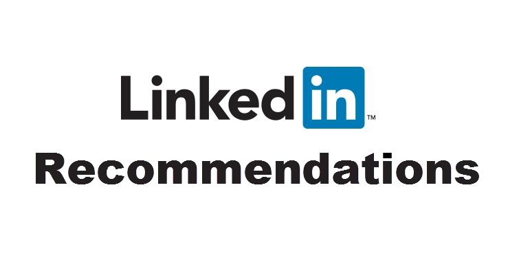 Linkedin Reccomendations